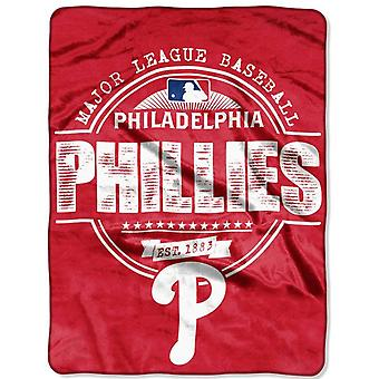 Northwest MLB Philadelphia Phillies Micro Plush Blanket 150x11