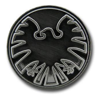 S.H.I.E.L.D. Symbol Zinn Anstecknadel