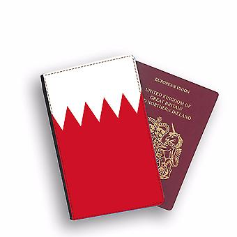 BAHRAIN Flag Passport Holder Style Case Cover Protective Wallet Flags design