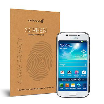 Celicious de confidențialitate plus 4-Way Anti-Spy filtru ecran protector film compatibil cu Samsung Galaxy S4 zoom