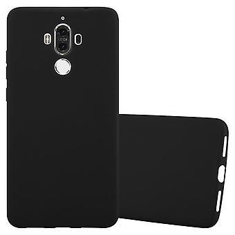حالة Cadorabo لغطاء حالة Huawei MATE 9 - حالة الهاتف المحمول مصنوعة من سيليكون TPU مرن - حالة سيليكون واقية من حالة الناعمة الناعمة الناعمة الغطاء الخلفي الوفير