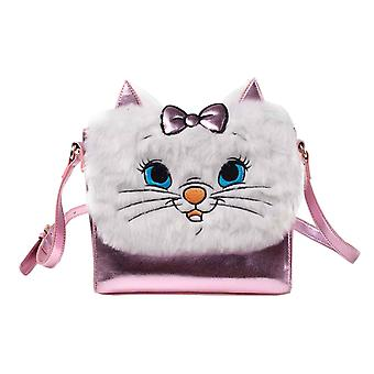 The Aristocats Shoulder Bag Marie face new Official Disney furry Pink
