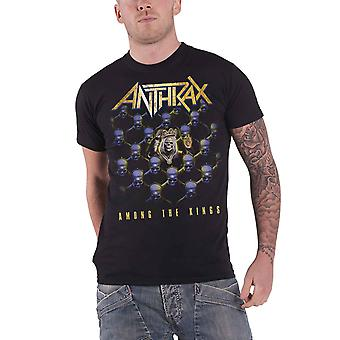 Anthrax T Shirt Among The Kings World tour 2017 new Official Mens Black
