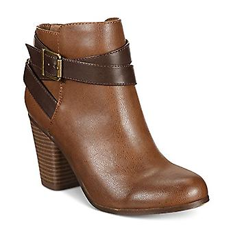 Material Girl Womens Lexia Fabric Almond Toe Ankle Fashion Boots