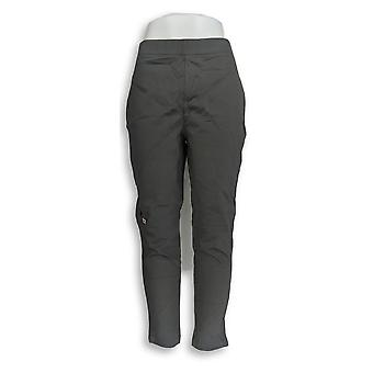 Women with Control Leggings Pull-On Ponte Royale Gray A294351