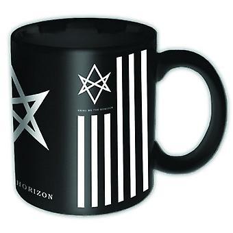 Bring Me The Horizon Mug Antivist band logo new official black Boxed