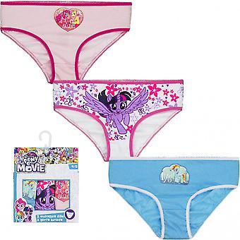 3 paires de culottes My Little Pony