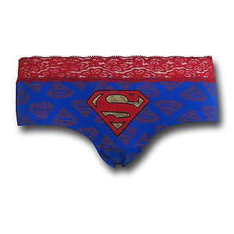 Superman Lace/Foil Women's Panty