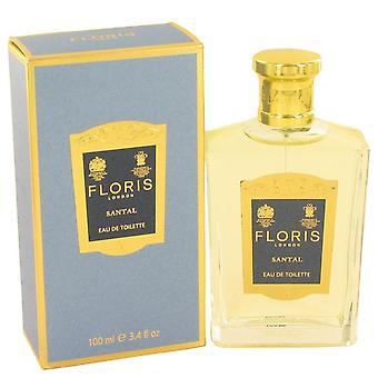 Floris santal eau de toilette spray por floris 496838 100 ml