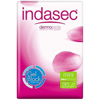 Indasec Incontinence Pads Dermoseda Mini 20 Units