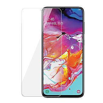 iCoverCase | Samsung Galaxy A70 | 2-pack schermbescherming gehard glas