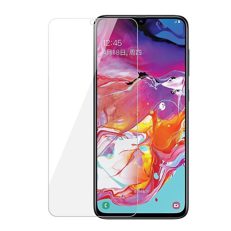 iCoverCase | Samsung Galaxy A70 | 2-Pack Skärmskydd  Härdat Glas