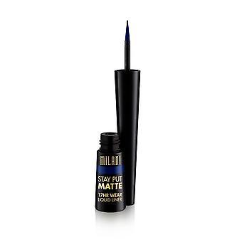 Milani Soggiorno Mettere Matte 17or Indossare Liquid Eyeliner Midnight Matte