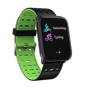Smartwatch T6 com tela sensível ao toque verde