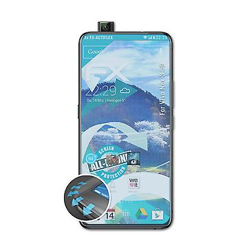 atFoliX 3x Protective Film compatible with Vivo Nex 3 5G Screen Protector clear&flexible