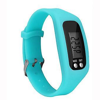 Pedometer Clock model Pedometer Clock model Comfortable to wear - LightBlue