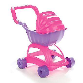Pilsan Lady Stroller Toy Pushchair Pink/Purple