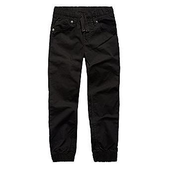 Levi's Boys' Little Ripstop Jogger Pants, Black, 6