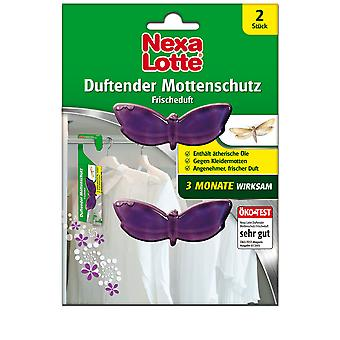 NEXA LOTTE® Scented moth protection Fresh fragrance, 2 pieces
