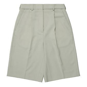 Acne Studios Ae0018abi Women's Green Cotton Shorts