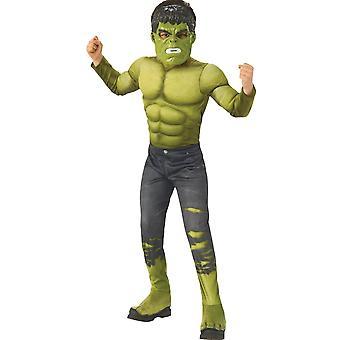 Traje de niño Infinity War Hulk