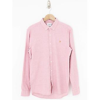 Farah Kreo Slim Fit Shirt - Pink