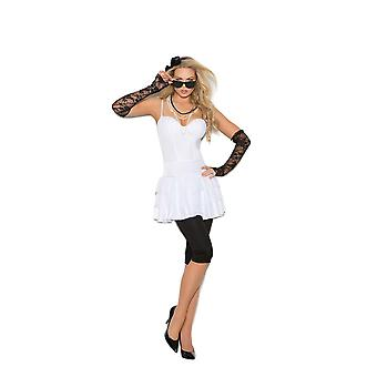 Elegant Moments Womens Rock Star Diva Madonna Halloween Costume