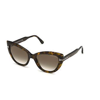 Tom Ford TF762 52K Dark Havana/Roviex Gradient Sonnenbrille