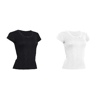 FLOSO Ladies/Womens Thermal Underwear Short Sleeve T-Shirt (Viscose Premium Range)