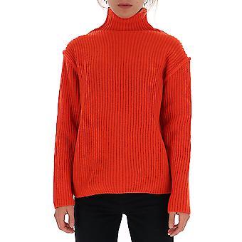 Tory Burch 57422600 Women's Red Wool Sweater