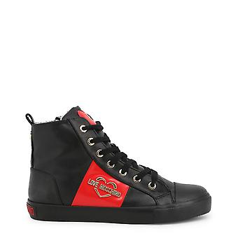 Love Moschino Original Women Fall/Winter Sneakers - Black Color 57204