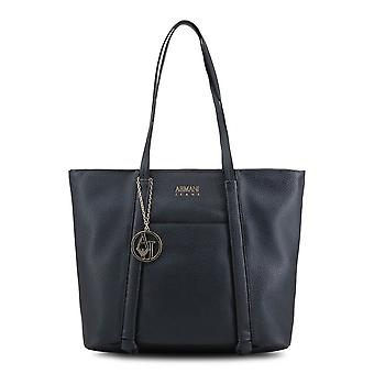 Armani Jeans Original Women All Year Shopping Bag - Blue Color 34287
