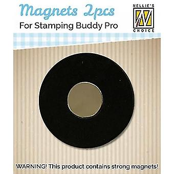 Nellie's Choice 2 magnets for Stamping Buddy Pro