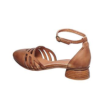 Antelope Women-apos;s 238 Cuir Laser Cut Ankle Mary Jane