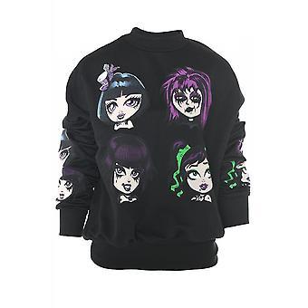 Attitude Clothing Gothic Graphic Sweatshirt
