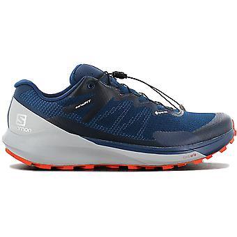 Salomon SENSE RIDE 3 GTX INVIS. FIT - GORE-TEX - Herren Wanderschuhe Blau 409752 Sneaker Sportschuhe