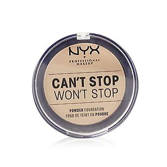 NYX Can't Stop Won't Stop Powder Foundation - # Light Ivory 10.7g/0.37oz
