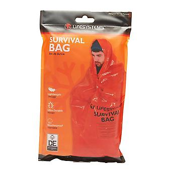 New LIFESYSTEMS Survival Bag Outdoors Camping Orange