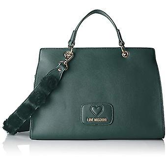 Love Moschino Bag Pu-polyester - Women's Green bucket bags 13x24x33 cm (B x H T)