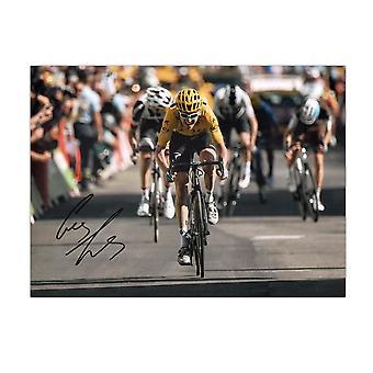 جيرينت توماس وقعت تور دو فرانس الصورة: Alpe D & apos;Huez Sprint