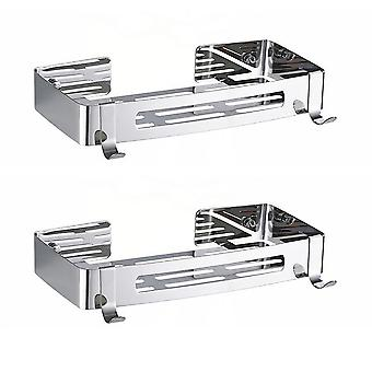 2 pcs Bathroom shelf