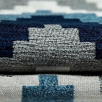 McAlister têxteis Navajo azul marinho cortinas