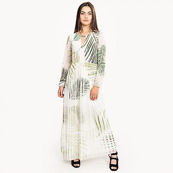 Great Plains Great Plains Palm Camo Breeze Womens Maxi Dress