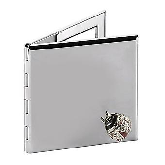 Orton West Lady Bird Compact Mirror - Silver