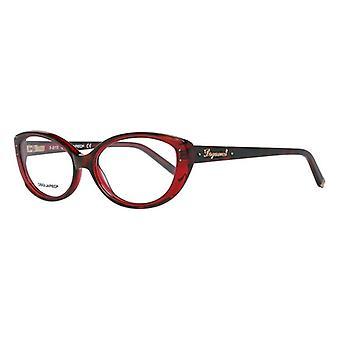 Cadre Ladies'Lunette Dsquared2 DQ5110-056-54 (ø 54 mm) Rouge (ø 54 mm)