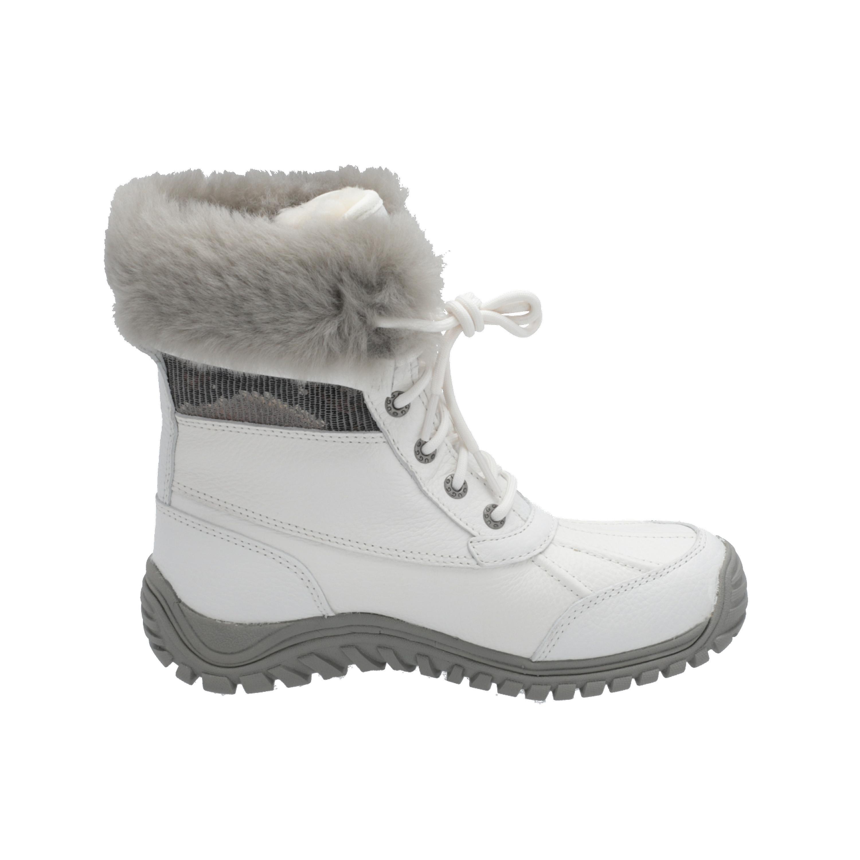 UGG UGG - WS ADIRONDACK II SNAKE damestøvler hvite Lace-Up Støvler Vinter