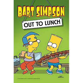 Bart Simpson Out to Lunch by Matt Groening