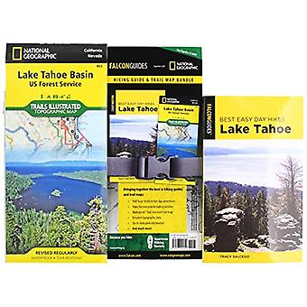 Best Easy Day Hiking Guide and Trail Map Bundle - Lake Tahoe by Tracy