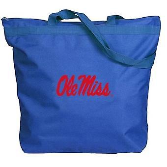 Ole Miss Rebels NCAA Dragkedja Tote Väska