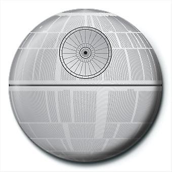 Star Wars Death Star 25mm Pin Button Badge